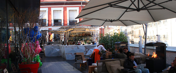 MADRID COOL BLOG terraza mercado SAN ANTON market terrace