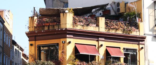 MADRID COOL BLOG bar el viajero terrace terraza barrio la latina neighborhood