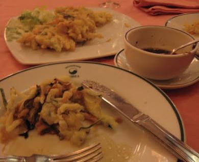 MADRID COOL BLOG restaurante korea tempura de verduras