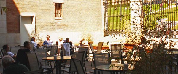 MADRID COOL BLOG terraza del museo del prado café agradable