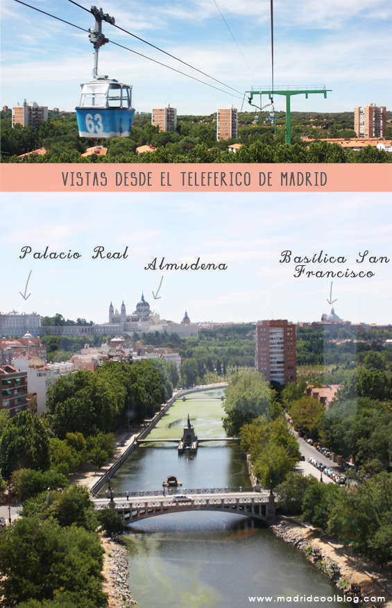 MADRID COOL BLOG teleférico madrid vistas almudena palacio real basilica san francisco casa de campo
