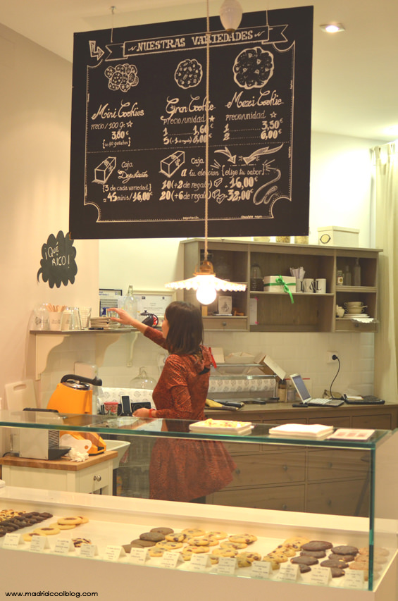 MADRID COOL BLOG LISE & LETI MOSTRADOR INTERIOR COOKIES