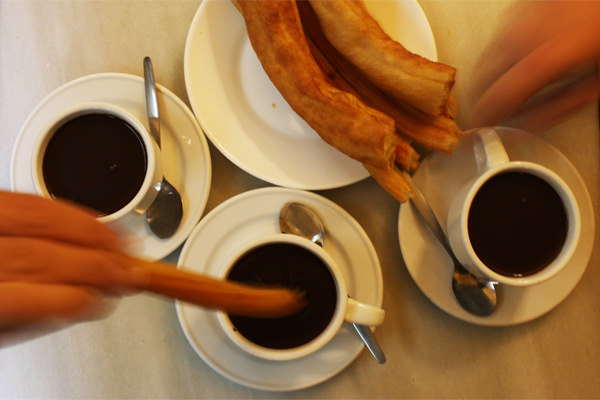 MADRID COOL BLOG san gines chocolateria churros chocolate sol arenal