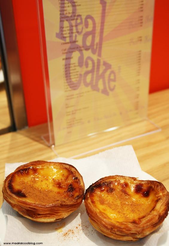 REAL CAKE MADRID pasteles de nata MADRID COOL BLOG pasteis de belem calle goya barrio salamanca café pasteleria bolo rei
