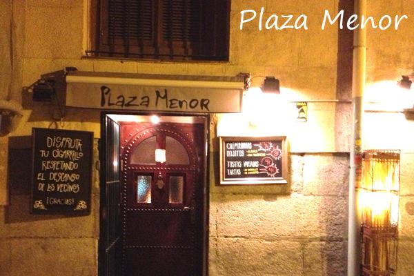 MADRID COOL BLOG PLAZA MENOR CAFE TARTA CAFÉ-CUEVA