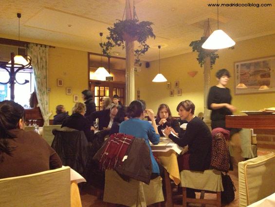 madrid, chueca, restaurante vegetariano, vegaviana