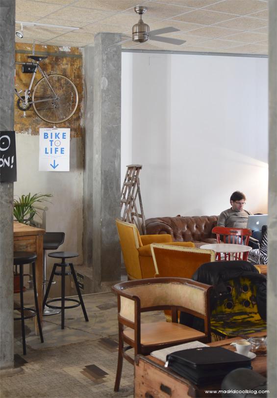La Bicicleta. Cycling Café & Workspace en Malasaña.