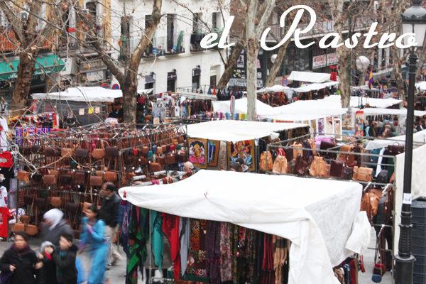 Mercadillo del Rastro en Madrid, La Latina. Foto de madridcoolblog.com