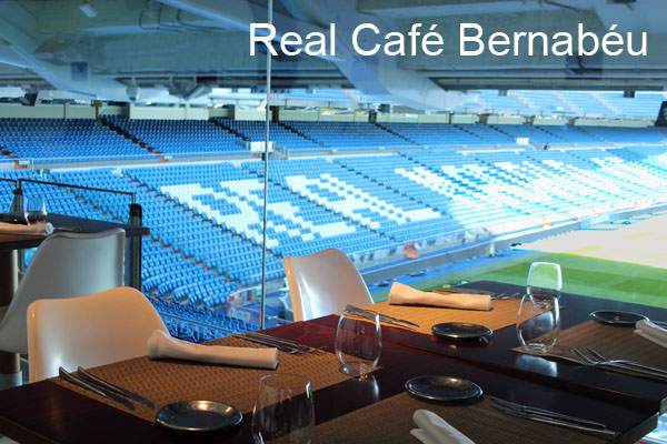 REAL CAFÉ BERNABEU, ESTADIO, VISTAS, TERRAZA