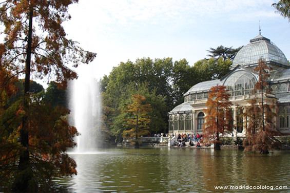 El Retiro. Foto de www.madridcoolblog.com jardines parques, primavera, verano, al aire libre