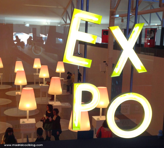 Letrero en la Casa del Lector. Foto de www.madridcoolblog.com matadero legazpi exposiciones