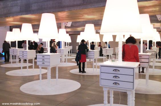 Exposición en la Casa del Lector. Foto de www.madridcoolblog.com matadero legazpi madrid