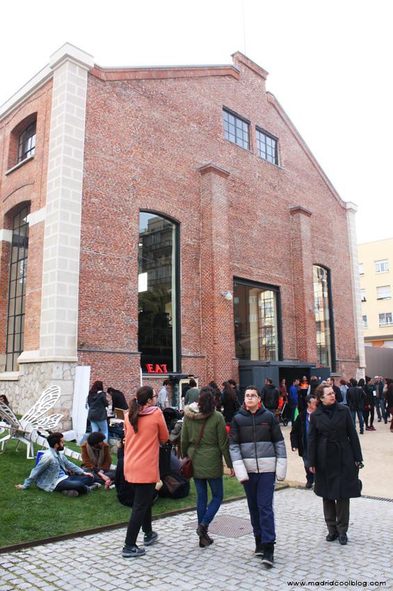 Nave de Motores en el Mercado de Motores en Madrid. Foto de www.madridcoolblog.com