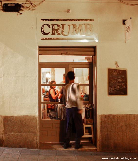 Sándwich de pollo en Crumb. Foto de www.madridcoolblog.com sandwiches de autor malasaña conde duque madrid