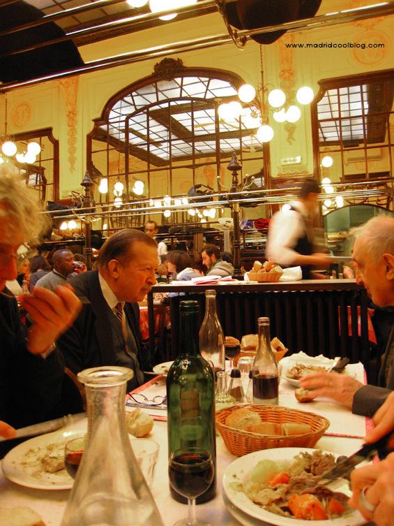 Restaurante Chartier en París. Foto de www.madridcoolblog.com Francia, viajes, menú casero francés