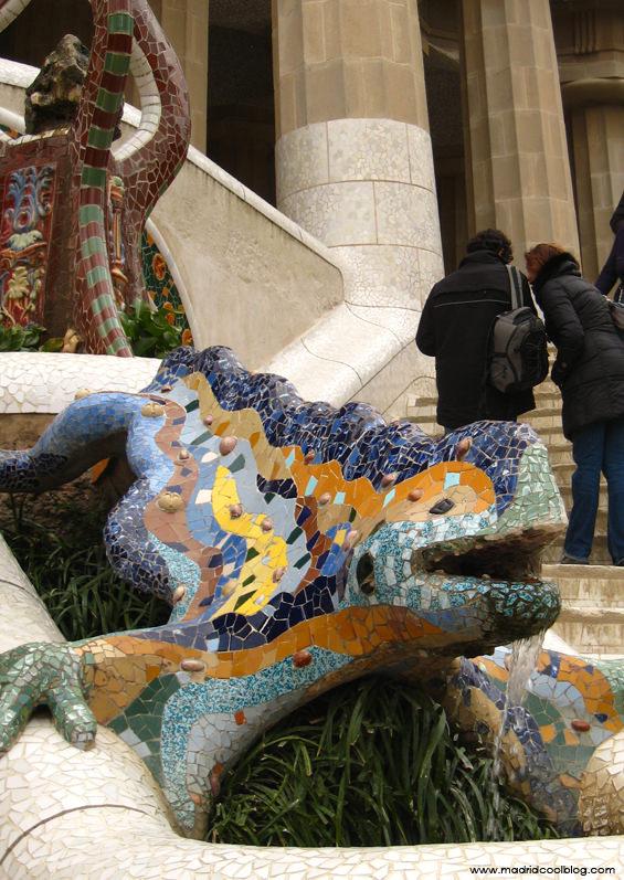 Parque Güell. Foto de www.madridcoolblog.com