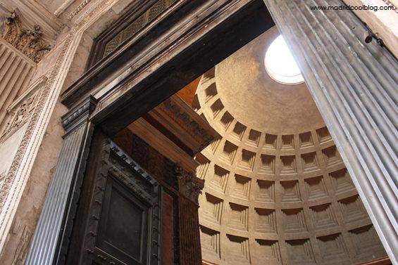 Entrada al Panteón de Agripa. Foto de www.madridcoolblog.com Roma, italia, viajes, escapadas
