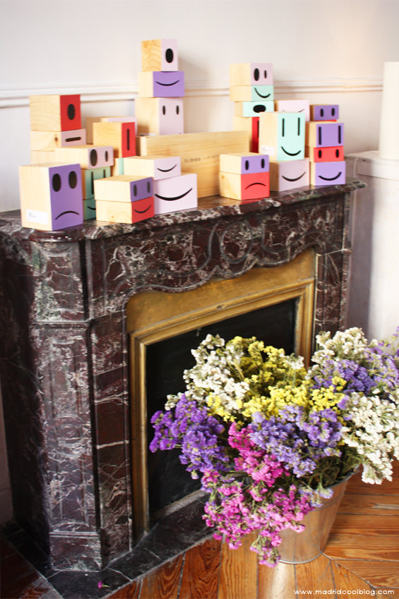 Detalle de la tienda en The Patio. Foto de www.madridcoolblog.com decoración, complementos, artesanos, creativos, pop up store, better