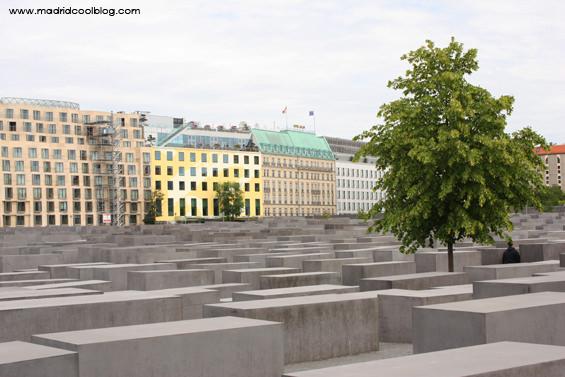 Monumento al Holocausto del arquitecto Peter Eisenman. Foto de www.madridcoolblog.com
