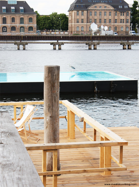 Piscina sobre el río Spree en Belin. Foto de www.madridcoolblog.com