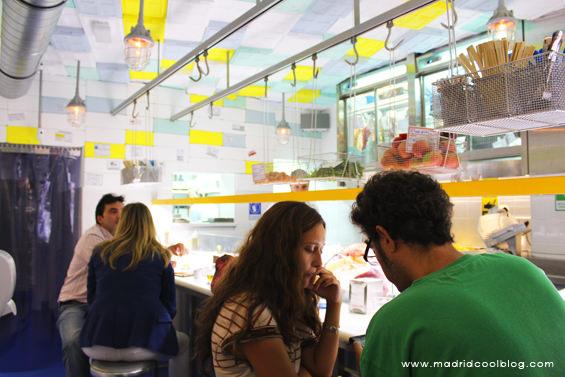 Ambiente en Sala de Despiece. Foto de www.madridcoolblog.com