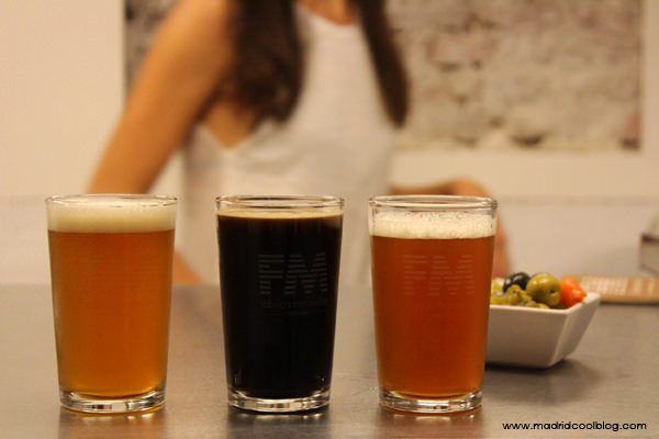 Cata de cervezas: Malasala Ale, Coffee Porter y FL(ipa) en Fábrica Maravillas. Foto de www.madridcoolblog.com