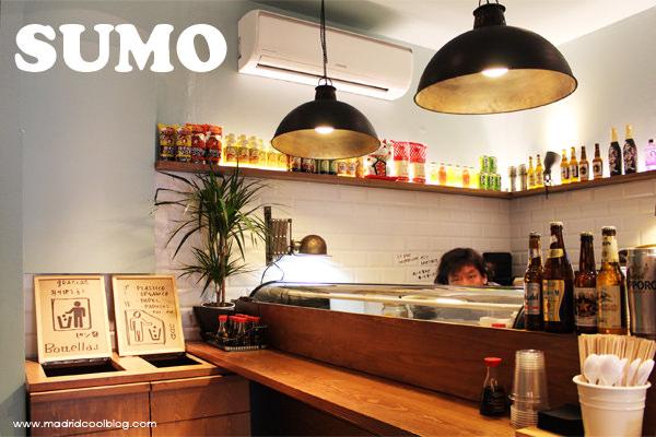 Sumo, sushi y ultramarinos japonés. Foto de www.madridcoolblog.com