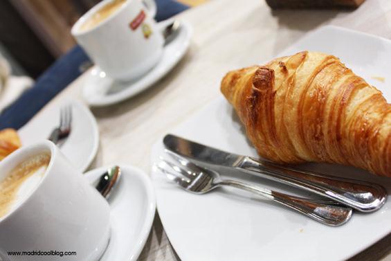 Croissants auténticos de La Croissanterie. Foto de www.madridcoolblog.com
