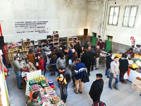 mercadillo navideño, productos artesanos, mercado de la buena vida, madrid