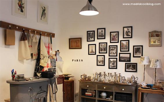Tienda Vintage Decoracion Madrid ~ Escaparate de Masphere Foto de www madridcoolblog com Detalles en