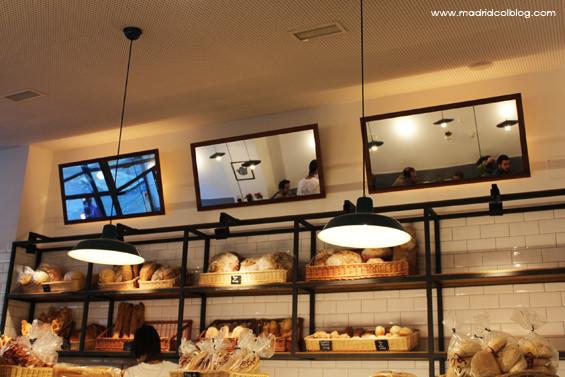 Mostrador de Miga Bakery. Foto de www.madridcoolblog.com