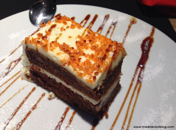 madrid cool blog, sexto, justicia, tarta de zanahoria
