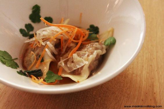 madrid cool blog, oribu, gastrobar, chueca, gyozas cocido madrileño