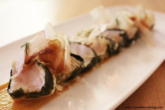 madrid cool blog, oribu, gastrobar, chueca, pez mantequilla