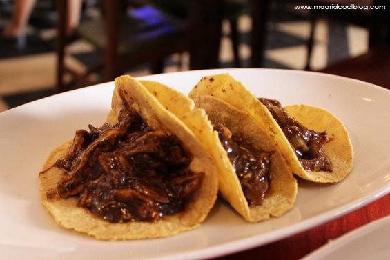 madrid cool blog, maria bonita taco bar, cocina mexicana, restaurante mexicano, taco, pollo, mole