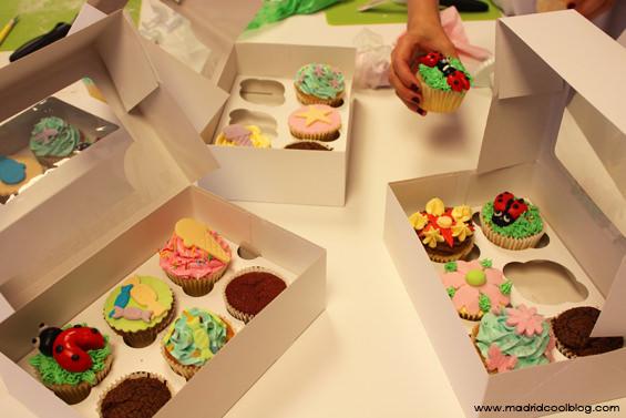 madrid cool blog, maria mirabelli, taller, cupcakes, tartas, fondant,