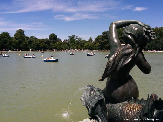 madrid cool blog, madrid, parque, retiro, barcas, estanque