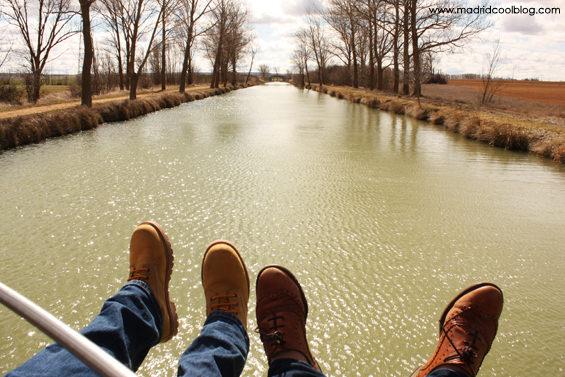 madrid cool blog, canal de castilla, tierra de campos, medina de rioseco, vistas, paseo,