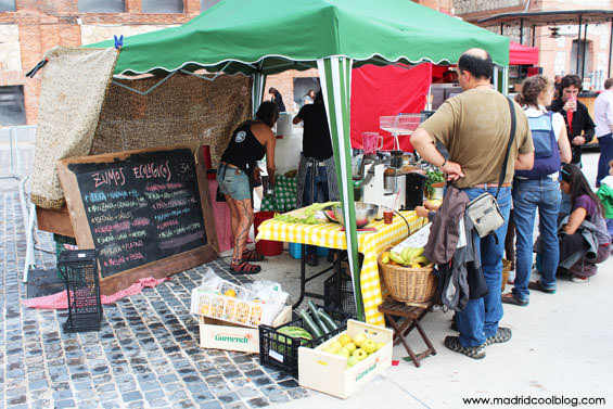 madrid, cool, blog, mercado, productores, legazpi, matadero, zumos, naturales