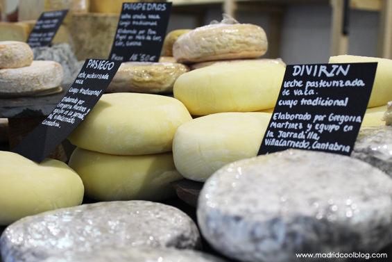 madrid cool blog, quesería, conde duque, queso