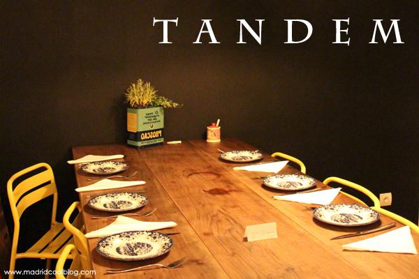 Tándem by Triciclo en el Barrio de Las Letras.