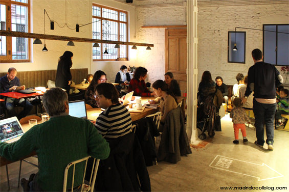 madrid, cool, blog, monkee, coffee, cafetería, café, coffee, bar, chamberí, interior, workplace, trabajo,