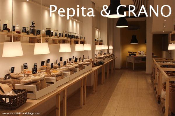 Pepita & GRANO. Tienda de productos ecológicos a granel en Chamberí.