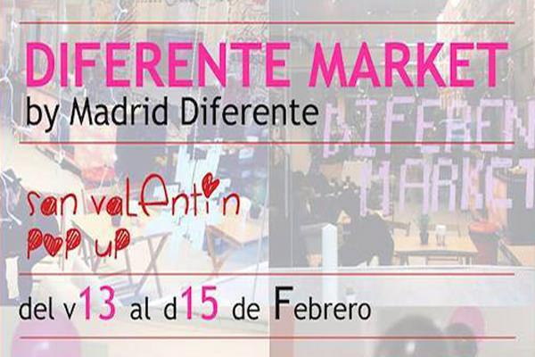Diferente Market. Mercadillo pop-up por San Valentín en Malasaña.