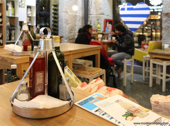 madrid, cool, blog, greek, shop, malasaña, delicatessen, gourmet, mesas