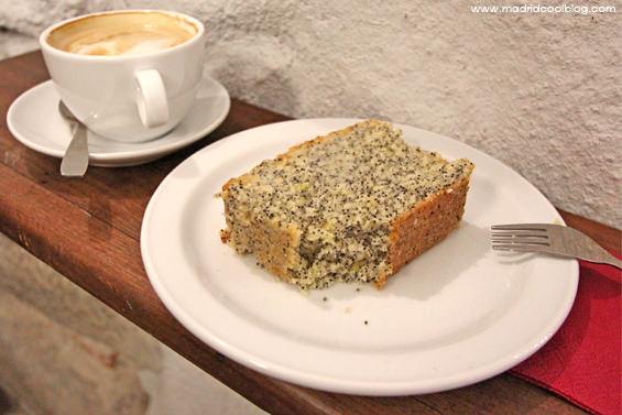 madrid, cool, blog, juanse, kafe, malasaña, café, tarta, zanahoria, amapola, jengibre