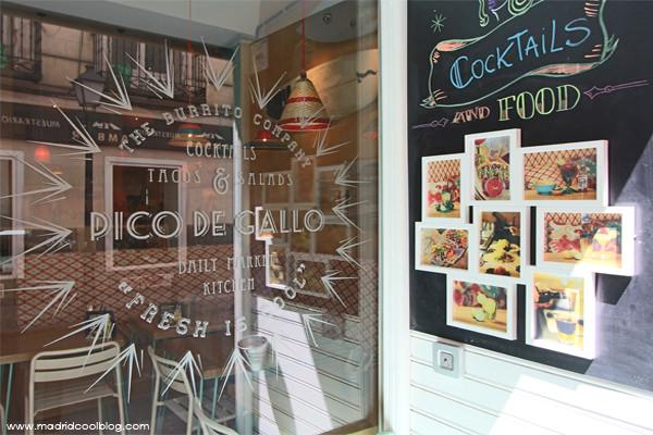 Pico de Gallo. Restaurante tex-mex en Chueca.