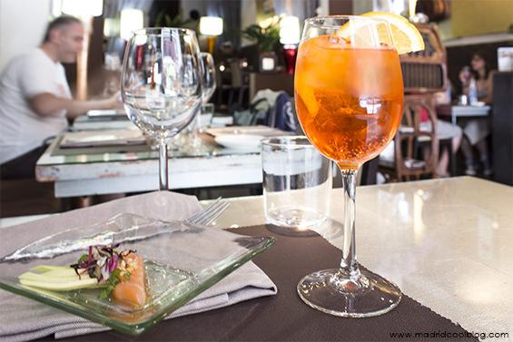 Gioia. Restaurante italiano en Chueca.