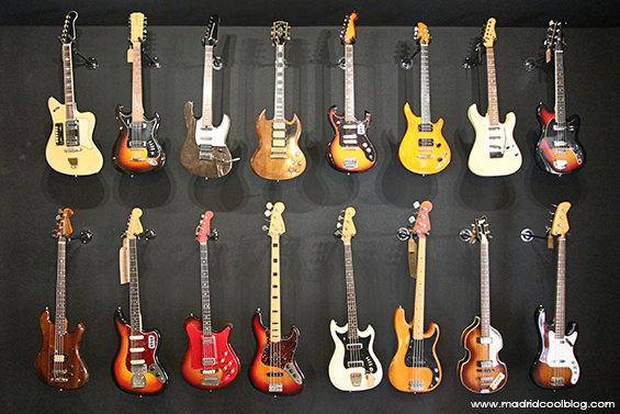 Headbanger. Tienda de guitarras en Malasaña.