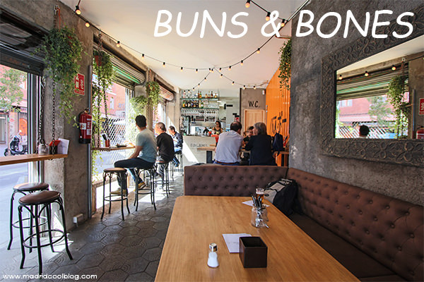 Buns & Bones. Asian street food en Antón Martín.